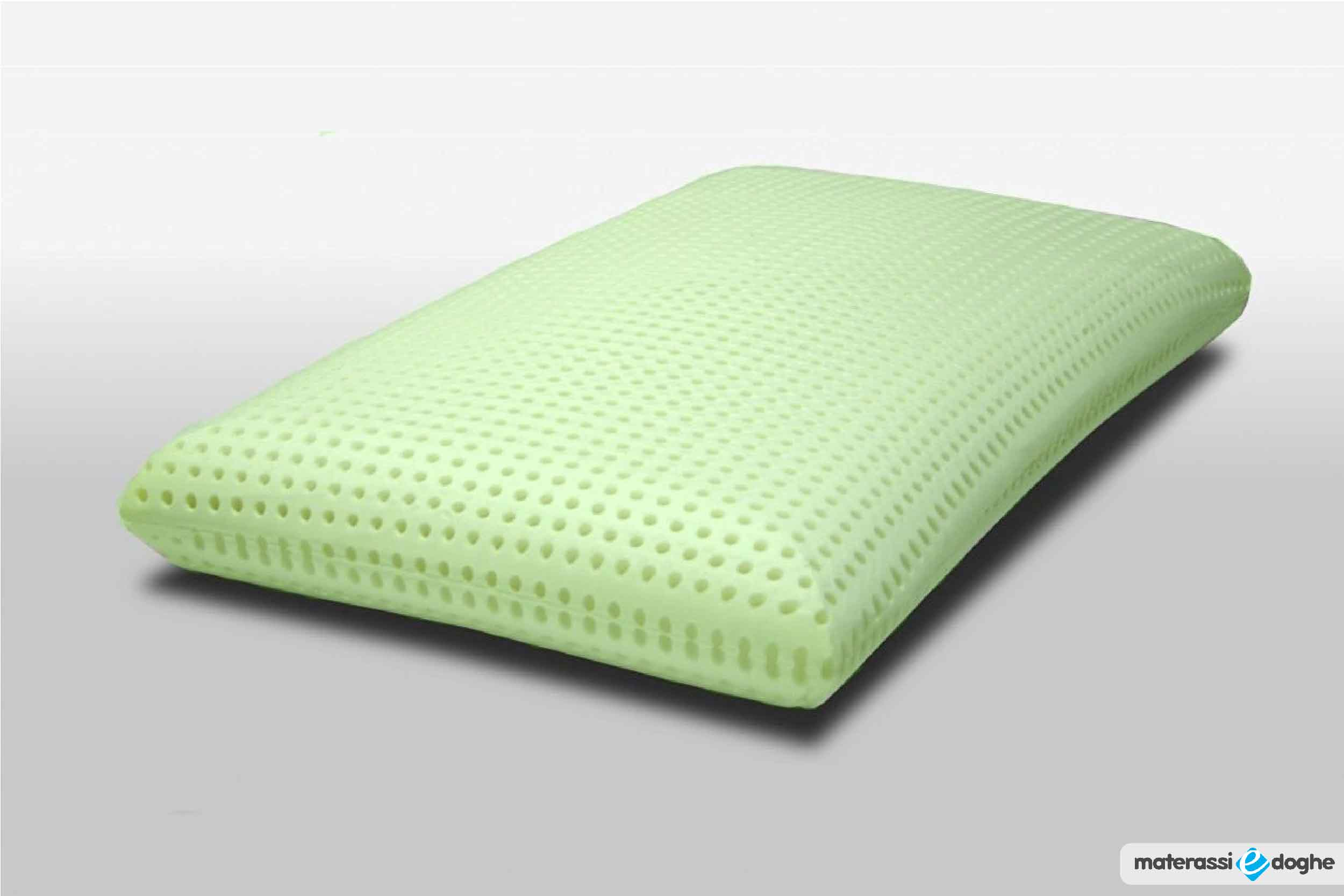 "Memory Foam Pillow ""La Spezia"" With Aloe Vera"