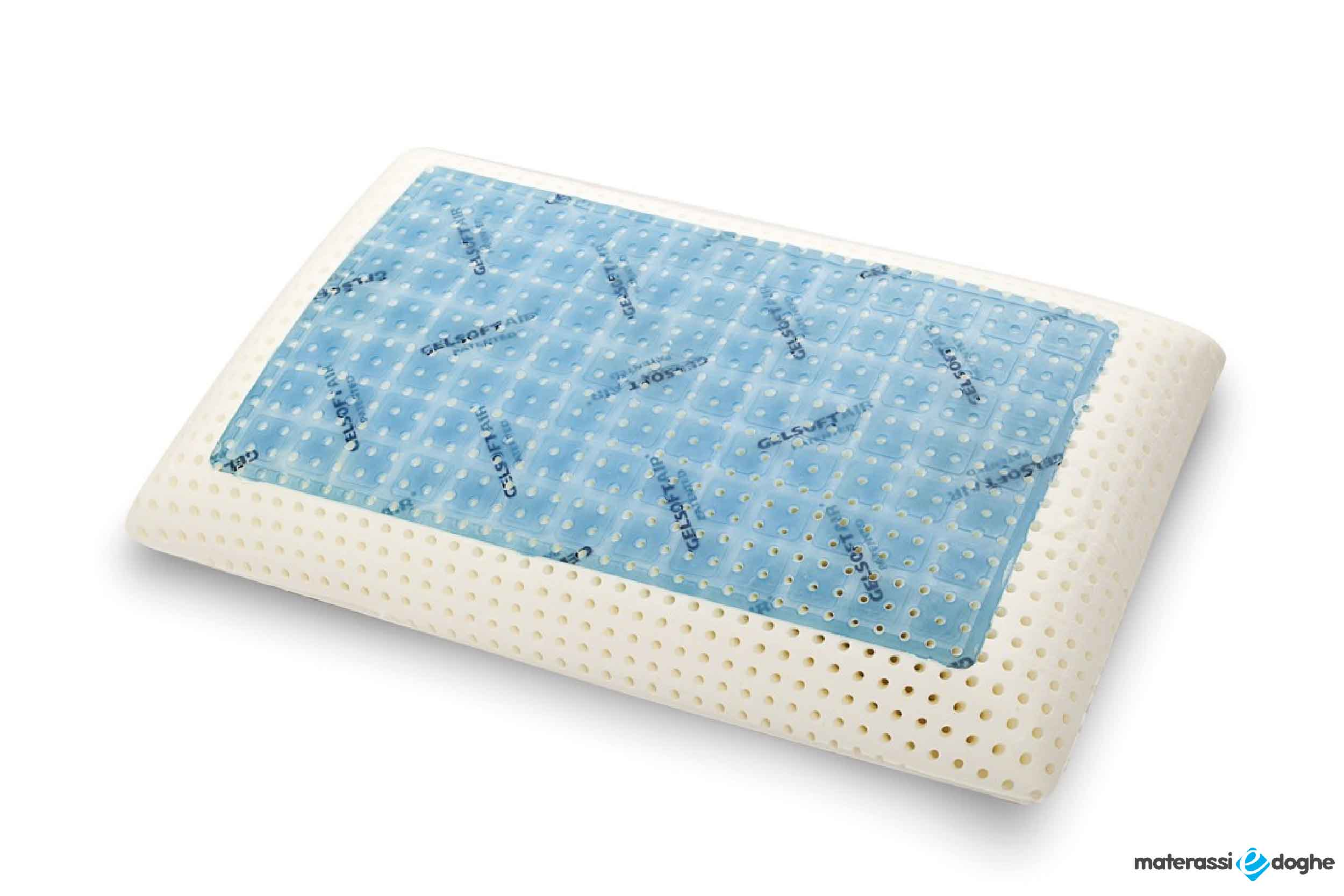 Cuscino MemoGel In MyMemory Memory Foam Termosensibile Traspirante E Gel