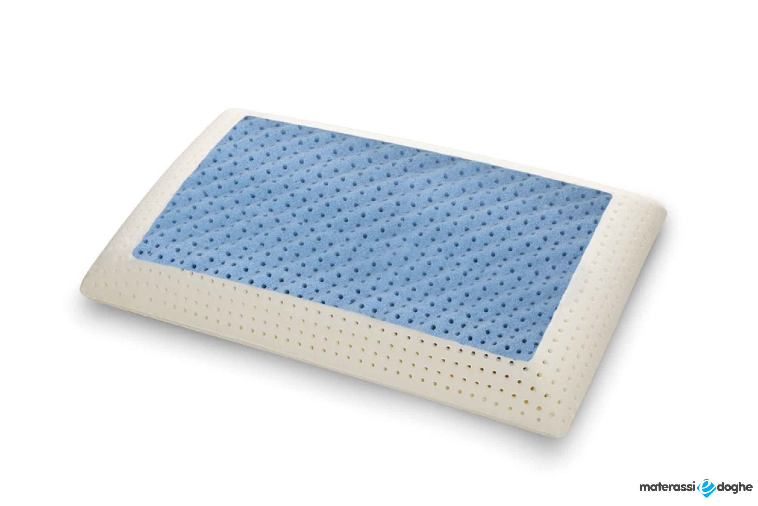 "Memory Foam Pillow ""Seawave"" Made Of MyMemory FRESH Highly Breathable"