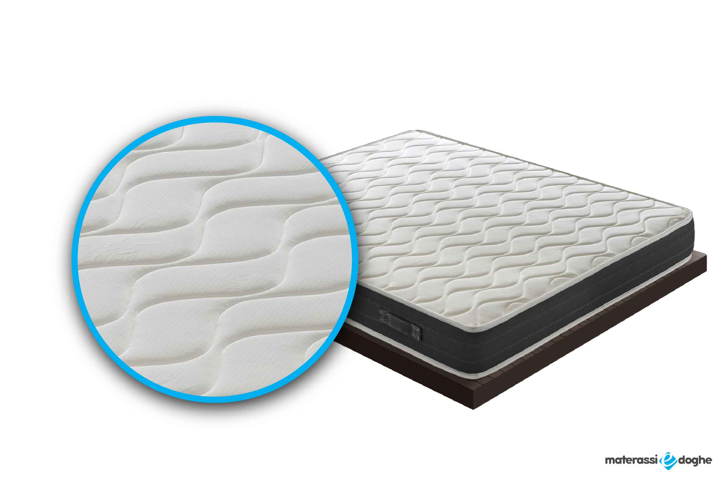 Quilted Mattress Zara With Memory Foam Mymemory Materassi E Doghe
