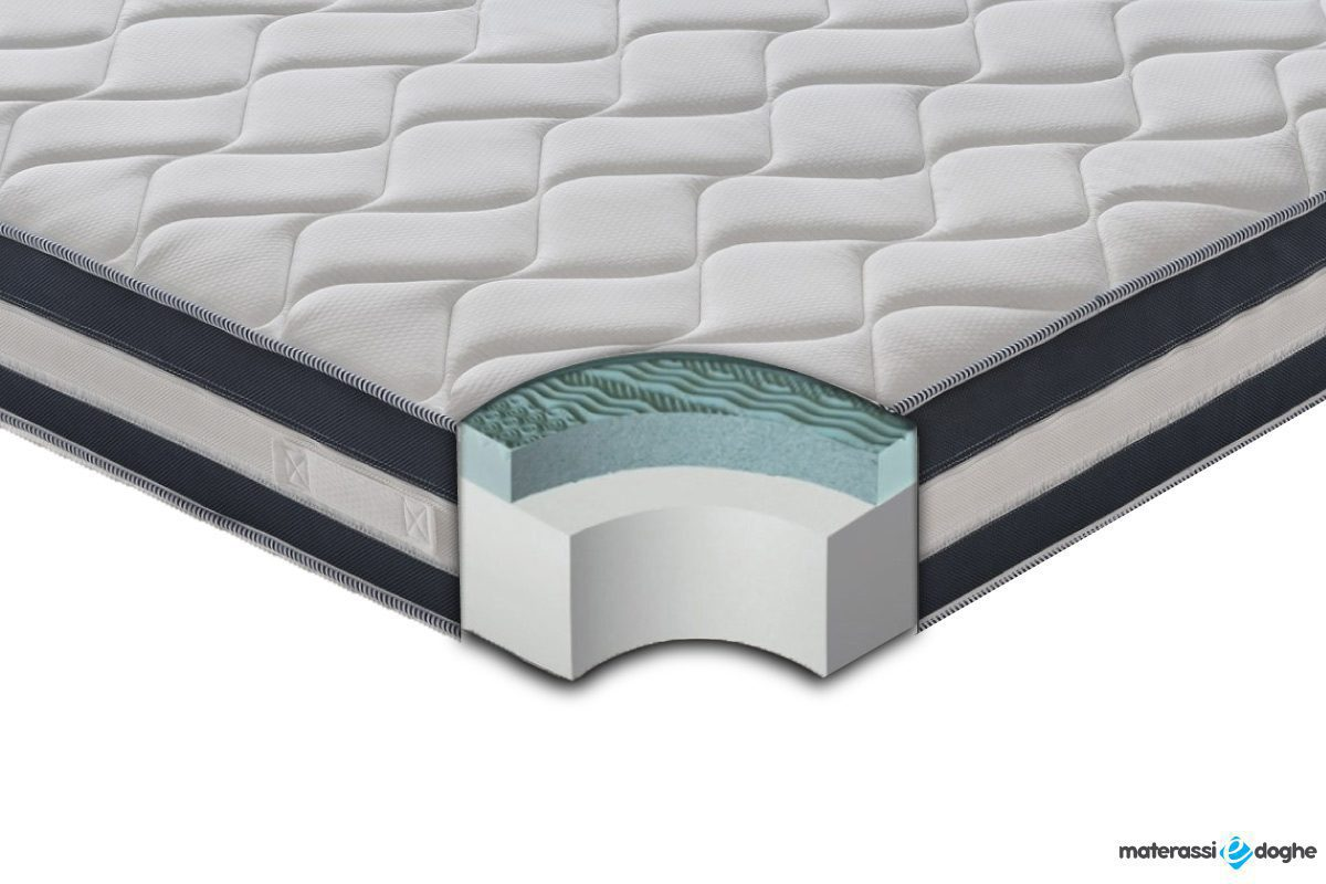 "Memory Foam Mymemory Mattress ""Asia"" High 26,5 Cm With Refreshing Gel"