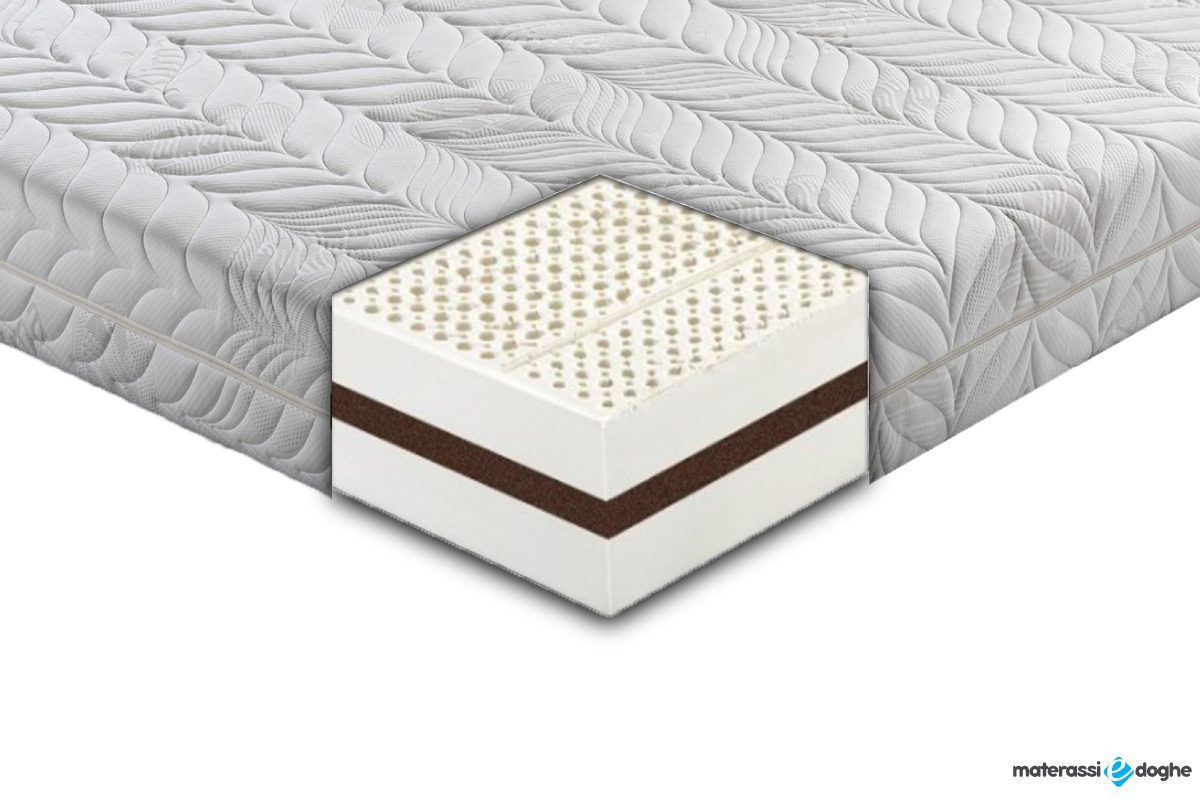 "Matelas ""Lecce"" En Latex Et Noix De Coco Xtrair Cocolayer Supportive"
