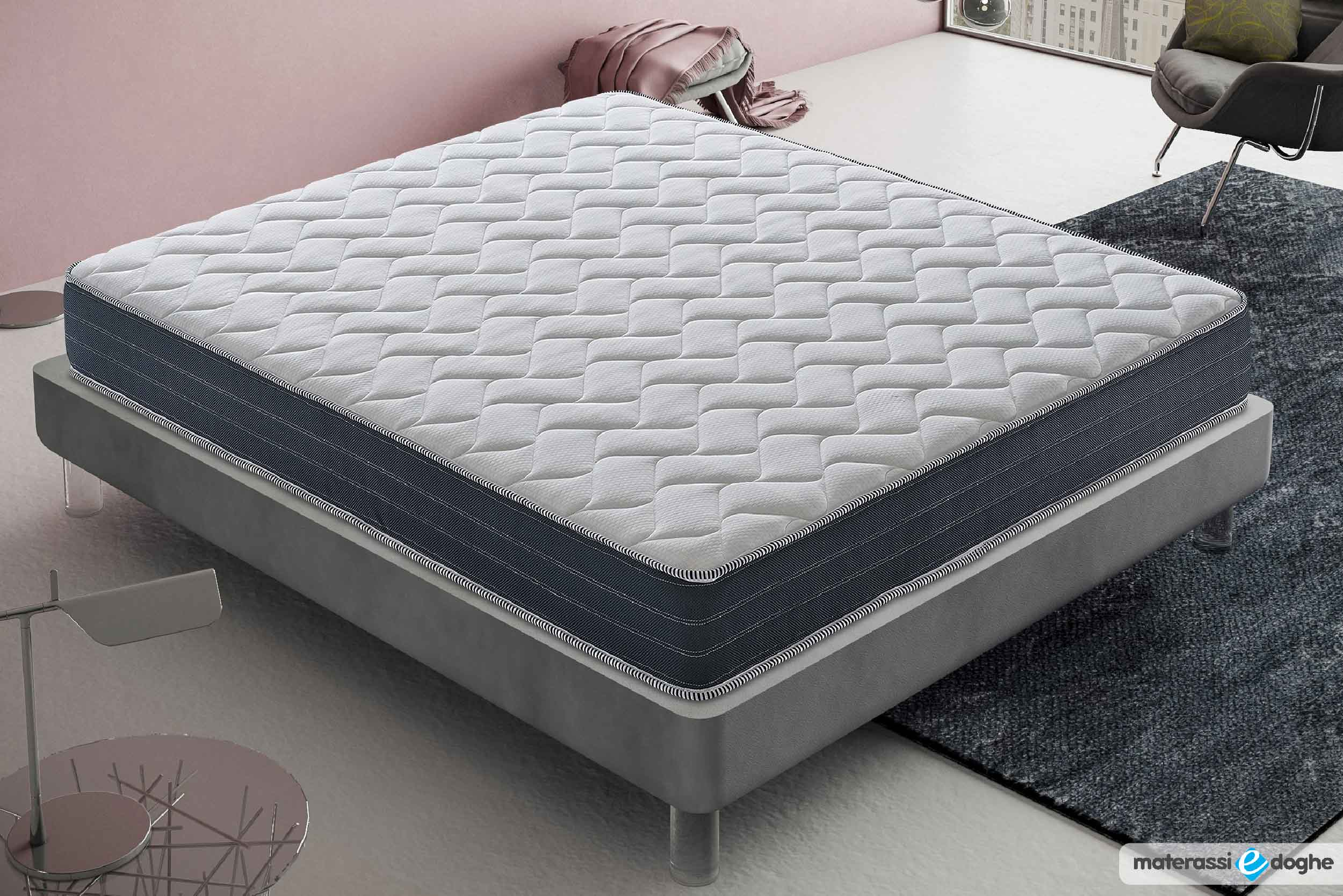 Memory Foam Mymemory Mattress Stratus With 11 Different Areas Materassi E Doghe
