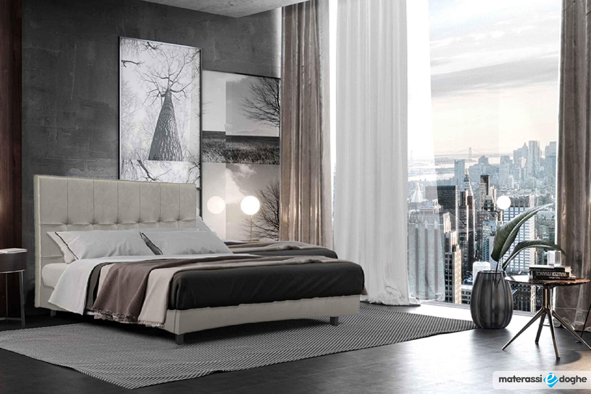 """Prontoletto """"Capri"""" Matrimoniale – Senza Rete – 160x190cm"""