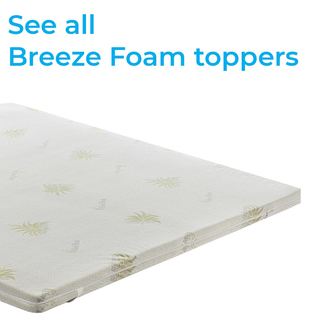 Breeze foam topper