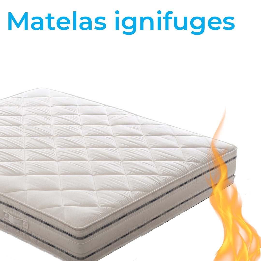 Matelas ignifuges