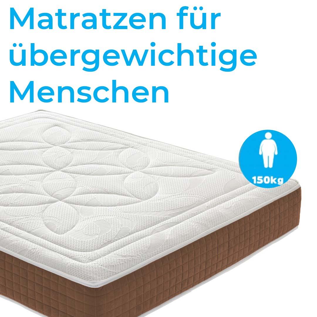 Matratzen für übergewichtige Menschen