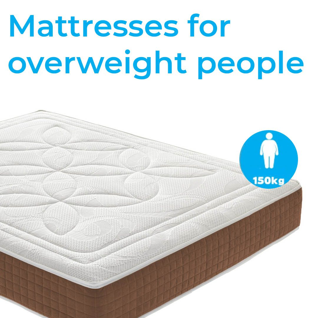 Mattresses for overweight people