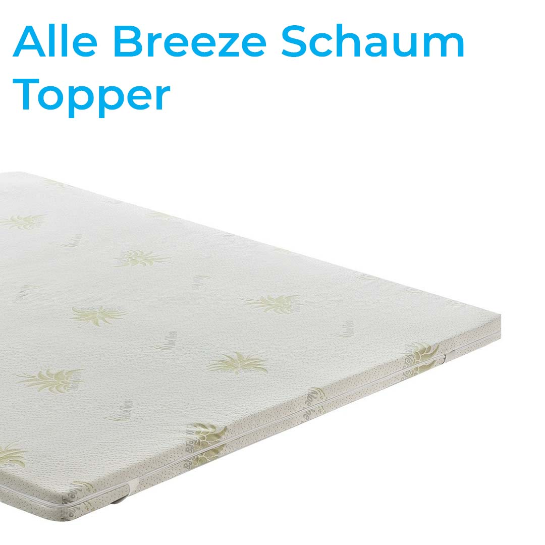 breeze schaum topper