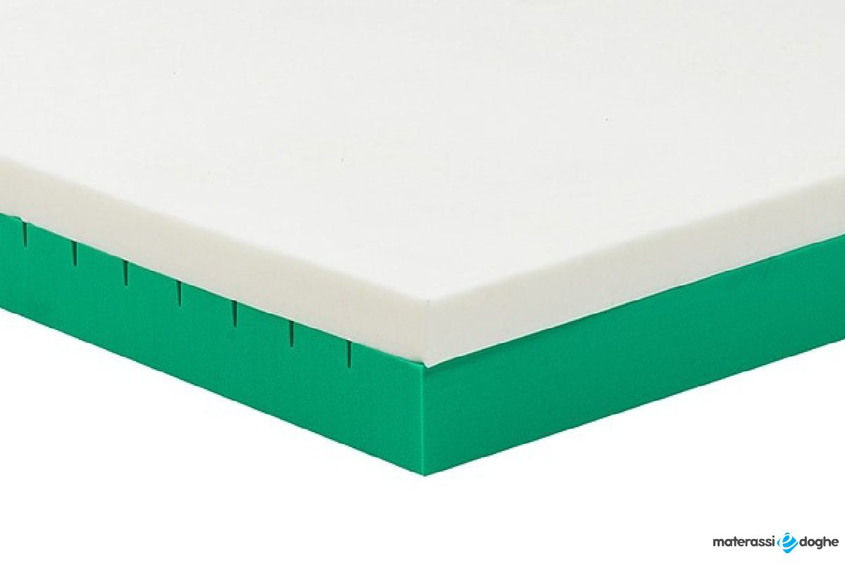 """""""Memolo"""" Mattress In Memory Foam With Interchangeable Inserts With Different Stiffnesses, 100% Customizable"""